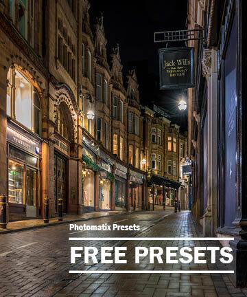 Free Photomatix Presets