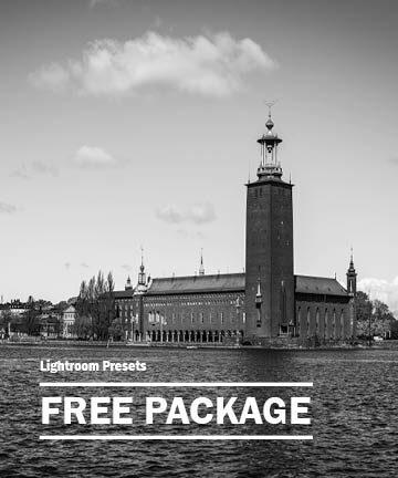 Free Lightroom Starter Package