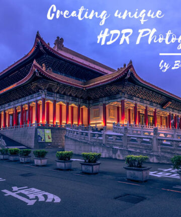Creating unique HDR Photographs